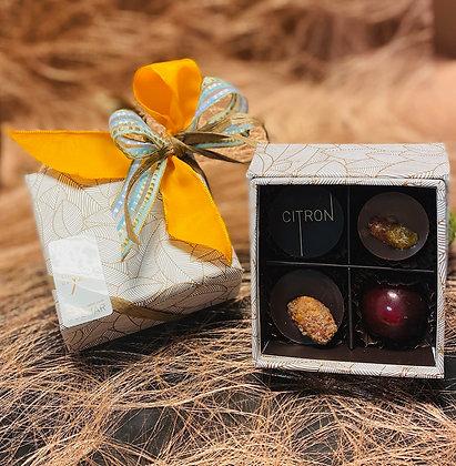 Coffret  Été Indien 4 Chocolats