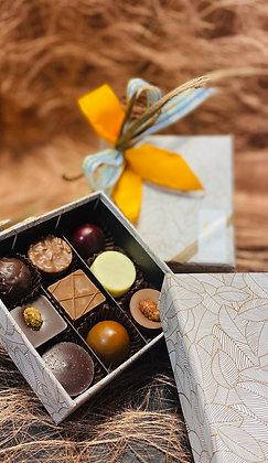 Coffret Été Indien - 9 Chocolats