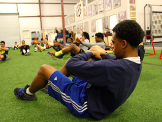 During The Season Training