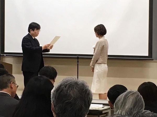 香川大学にて修了式