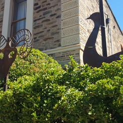 Iron garden ornaments