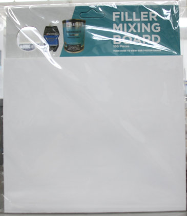 Filler mixing board - 100 pack