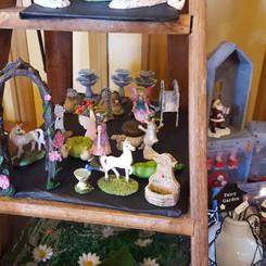 Treasures to build a fairy garden
