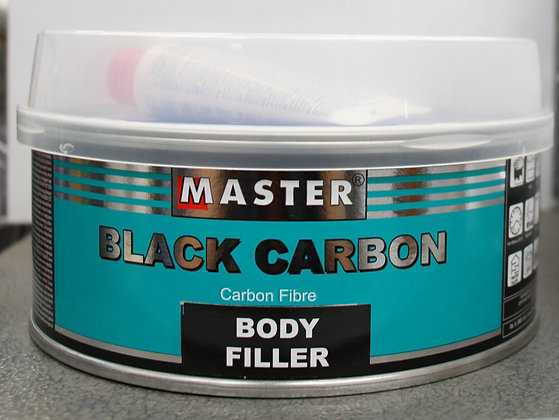 Master Black Carbon Body Filler 500g