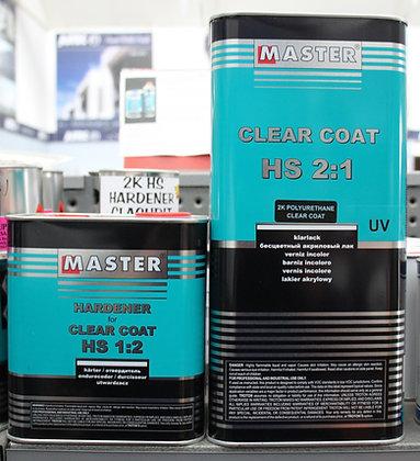 Master 2k Clearcoat 7.5Lt Kit