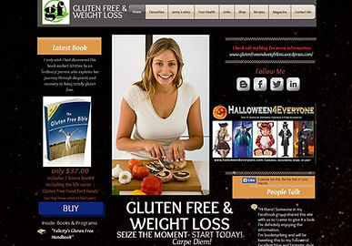 Gluten Free & WeightLoss website