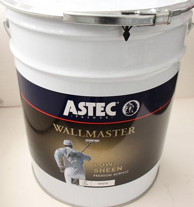 Astec Wallmaster. Interior Low Sheen 20Lt
