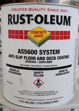 Rust-Oleum Anti Slip Floor Coating Safety Yellow