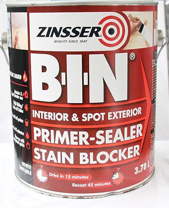 Zinsser B.I.N Primer, Sealer Stain Blocker 3.78Lt