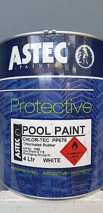 ASTEC Pool Paint, Pacific Blue, Mid Blue 4ltrs