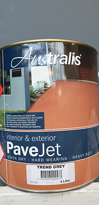 PAVE JET Interior/ Exterior Paving Paint, 4ltrs, other colors available FROM