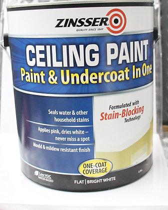 Zinsser Ceiling Paint & primer in one 4Lt