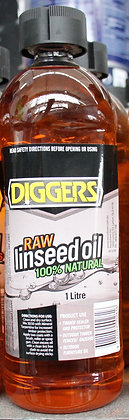 Diggers Raw Linseed Oil 1Lt