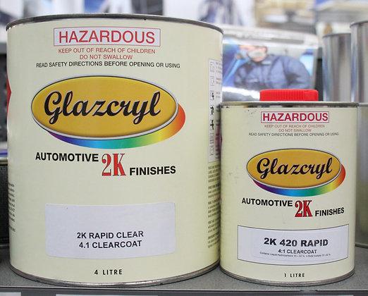 Glazcryl 2K Clearcoat 5Lt Kit