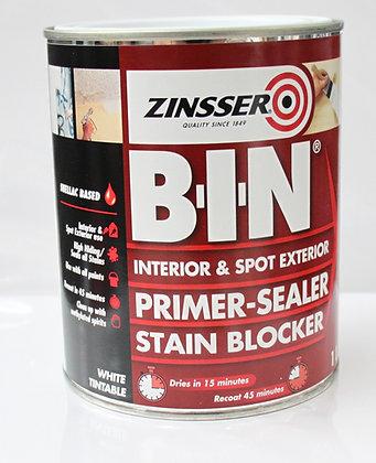 Zinsser B.I.N Primer, Sealer Stain Blocker 1Lt