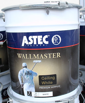 Astec Wallmaster Ceiling White 10Lt
