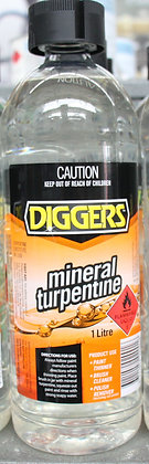 Diggers Mineral Turpentine 1Lt