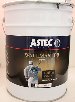 Astec Wallmaster. Interior Ceiling White 20Lt