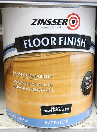 Zinsser Water Based Floor Finish Semi Gloss 4L