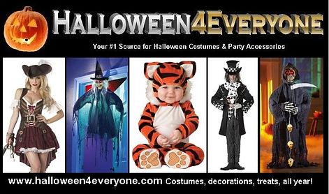 Halloween4everyone website