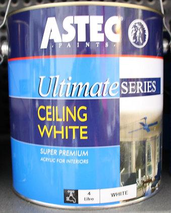 Astec Ultimate Series, Ceiling White, 4Lt