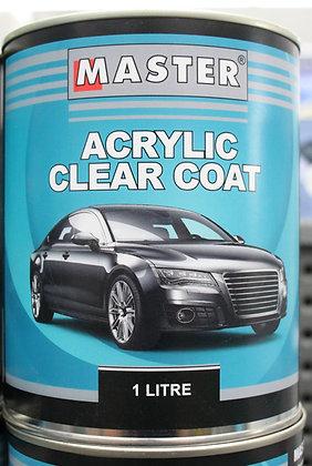 Master Acrylic Clear Coat 1Lt