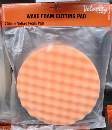 Medium Orange pad for applying cutting compound