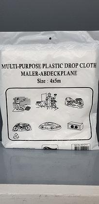 Plastic Drop sheets 4 x 5m