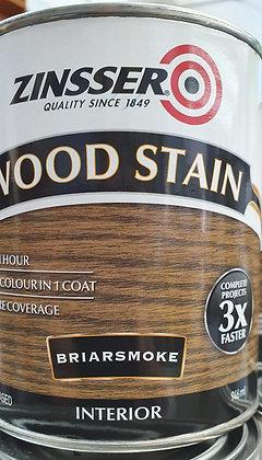 Zinsser Interior Wood Stain 1Lt Briarsmoke