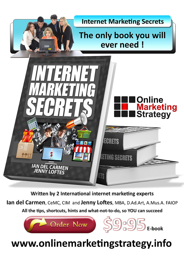 Internet Marketing Secrets new book