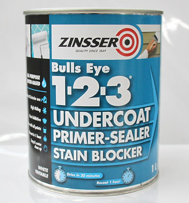 Zinsser Bulls Eye 1.2.3 1Lt