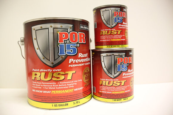 POR 15 Permanent Rust Preventive 473ml