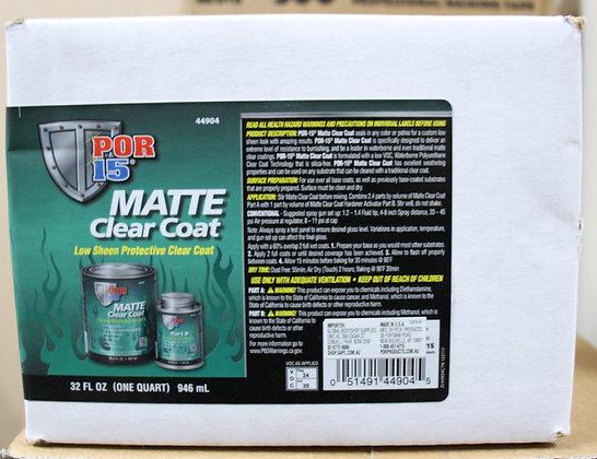 Matte Clear Coat 2k kit 946ml