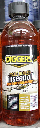 Diggers Pale Boiled Linseed Oil 1Lt