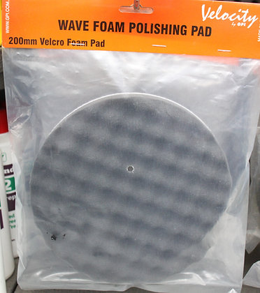 Soft black pad for applying polish & glazing compounds