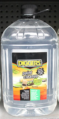 Diggers Paint Clean Up 4Lt
