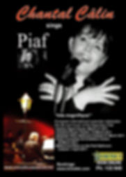 Chantal Calin concert Flyer for Adelaide