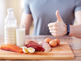 Recomendaciones para el consumo de proteína.