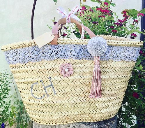 Ibiza Basketbag small personalized