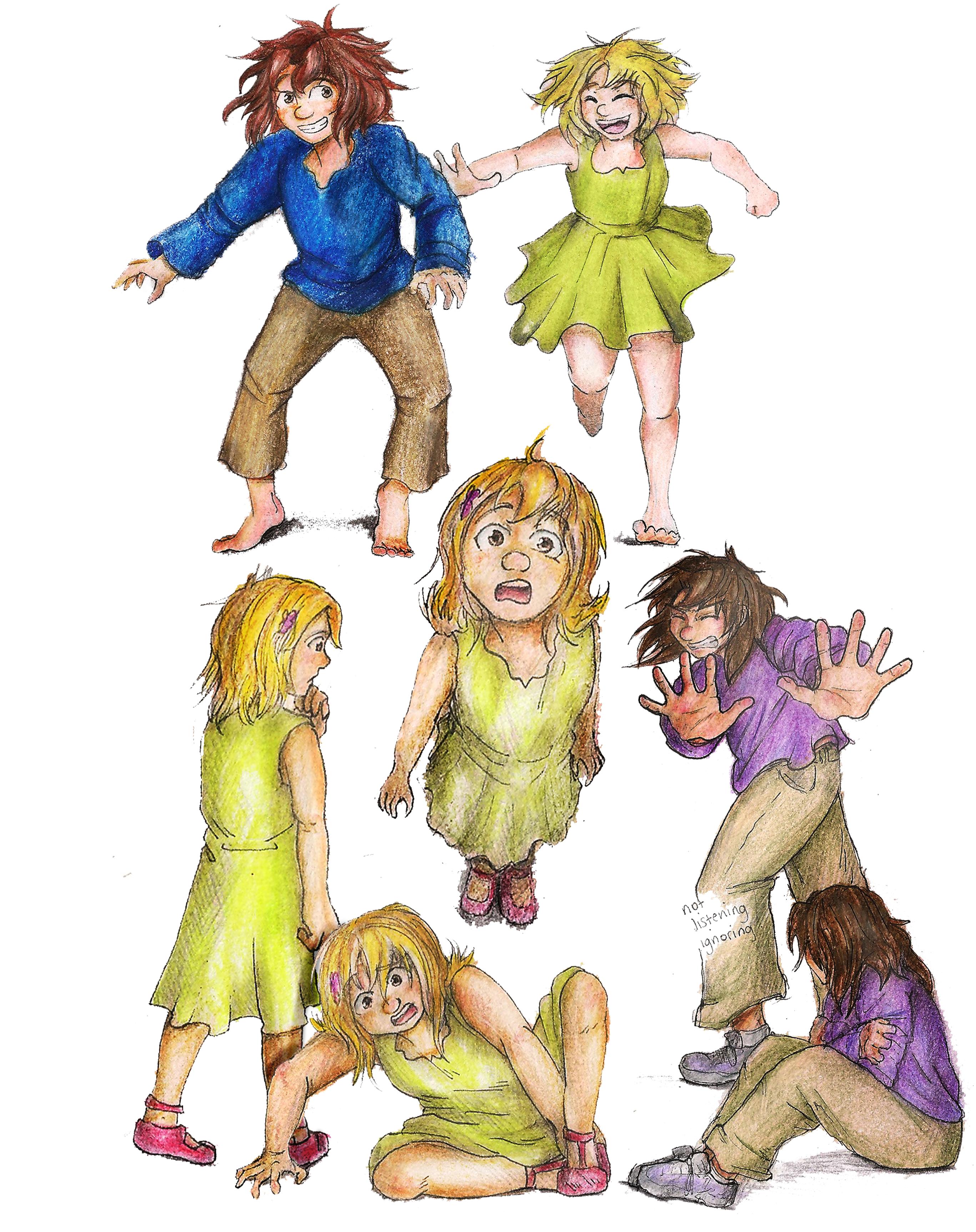 Character concepts (colour)