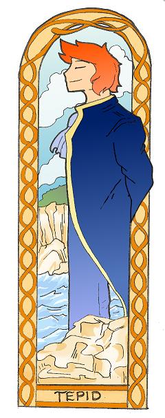 Bookmark design - Prince Tepid