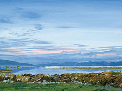 The Twelve Bens from Ros Muc, Connemara, Ireland - 1