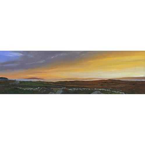 Sunset at Ros Muy, Connemara, Ireland