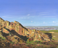View of Loughborough from Beacon Hill, Leicestershire
