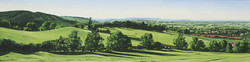 View Towards West Malvern, Worcestershire