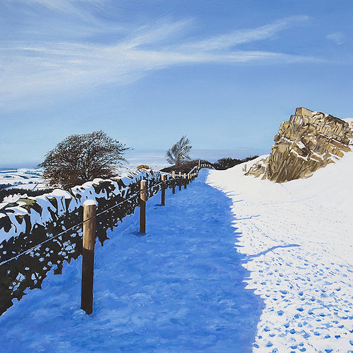 Path Under the Snow, Beacon Hill, Leicestershire