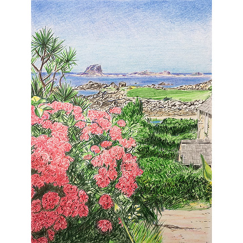 View Out To Sea From Bryher, Isles of Scilly