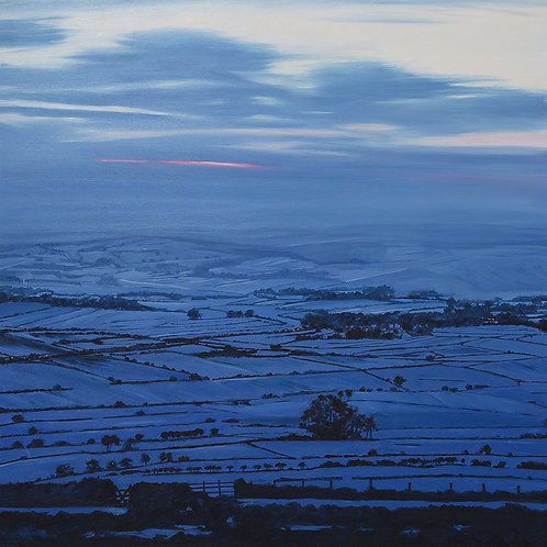 View From Bretton at Dusk, Derbyshire