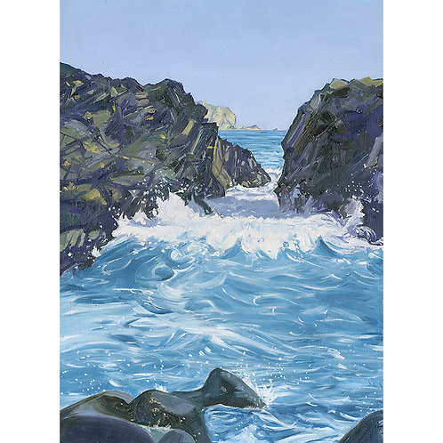 Incoming Tide at Kynance Cove
