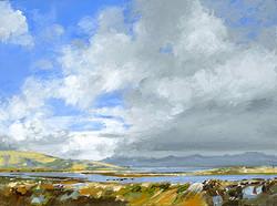 The Twelve Bens from Ros Muc, Connemara, Ireland - 2